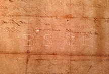 Watermark Collection / Images of watermarks from hand made paper, mostly early American mills.