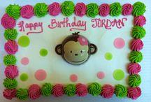Monkey- Andi's First Birthday