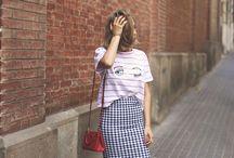 Looks Casuais - Casual Look / Painel que reúne looks do dia casuais e estilosos, com elementos de tendência e conforto.