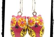 Earrings OWL Lover / by madamepOmm BYK