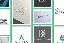 Monogram Logo Designs / Nothing quite brands your business more comprehensively than an expertly executed monogram logo. Find more inspiration here: http://logo.designcrowd.com/logo-design-gallery/
