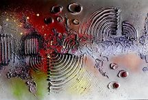 Painted Abstract Art