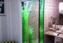 Decoração de casas com aquários