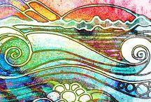 Arte em Pintura/ Aquarela