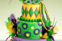 Mardi Gras Wedding Inspiration / We're thinking of doing a Mardi Gras inspired wedding shoot. This board is to give us inspiration!