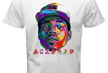 Acid Rap the Rapper Shirt white