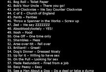 English British Slang