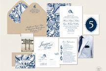 Ocean Themed Wedding Stationery