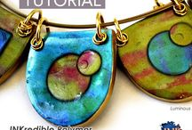 Polymer Clay Necklaces & Pendants