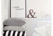 Pillows & cushions / Cojines, almohadas, cuadrantes para tu sofa y cama
