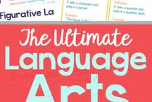 Language Arts for Homeschool and Education / Find ideas for spelling, literature, grammar, unit studies, book lists, and much more.