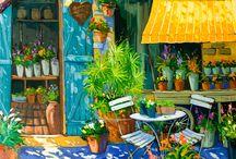Landelijke schilderijen
