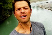 Husband Misha Collins.