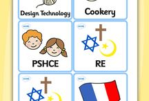 Classroom Labels / Name labels for students