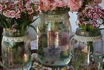 Mason  Jars  / The things you can do with them  / by Linda Prigge Wackenstedt