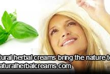 LET NATURAL HERBAL CREAMS BRING THE NATURE TO YOU!