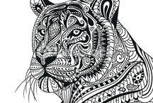 kreslená zvířata
