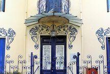 Balconies, windows, doors