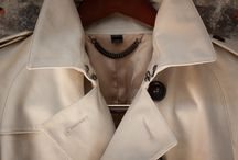 Trench coat details
