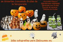 Halloween / Ideas creativas en la cocina para Halloween
