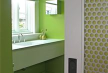 Fretwork doors for cabinet