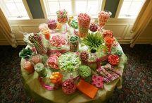 Graduation sweets table