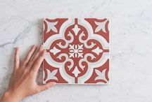 TileClouds Red Tiles