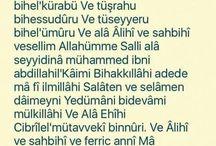 Dualarımız ...