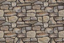 건축 벽돌 돌맹이 타일