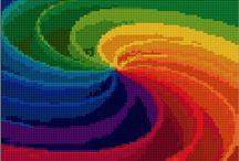 barevná spirála
