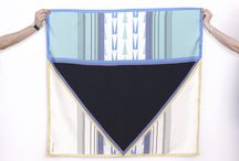 Collection Three / Louisa Parris's silk and georgette scarves.