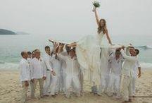 casamento na praia / Fotos