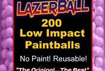 Low Impact Paintballs