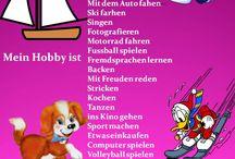 Nemčina Hobbys