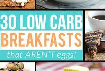 Low carb breakie ideas