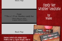Candy wrapprrs / by Maria Callahan
