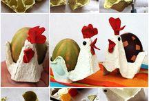 z kartónu vajec