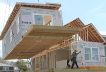 Homes In Motion / Ever wonder what it looks like when a modular is getting set?