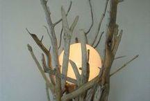 luci legno di mare