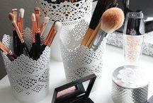 Make-up ständer