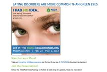 National Eating Disorder Awareness Week 2014
