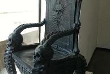 My husbands chair