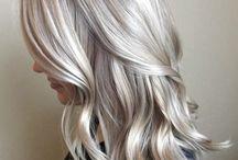 Blond haar