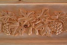 legno intaglio