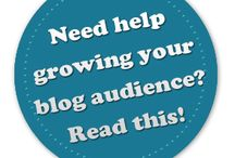 Blogging: Audience / Tips about growing and sharing your blogging audience.
