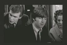 Beatles<3 / Pictures of James Paul McCartney, Richard Lee Starkey, George Harold Harrison and John Winston Ono Lennon.