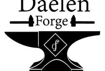 Artisan Blacksmith Daelen Forge / Creations from the fires of Daelen Forge (created by my hubby!)