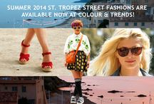 SUMMER FASHION DESTINATION ST. TROPEZ STILL HAS ALLURE! / After all these years, St. Tropez continues to be a popular destination for young and old, rich and not so rich, and fashion and sun worshippers.   This is a selection of our St. Tropez Street Fashions Report. Subscribe today to get full access!   http://www.colourandtrends.com/