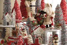 Kersthuisjes