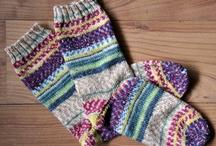 編み物 靴下